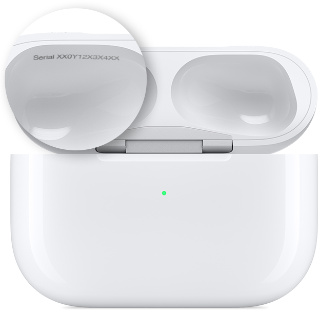 AirPods Case Serial Number