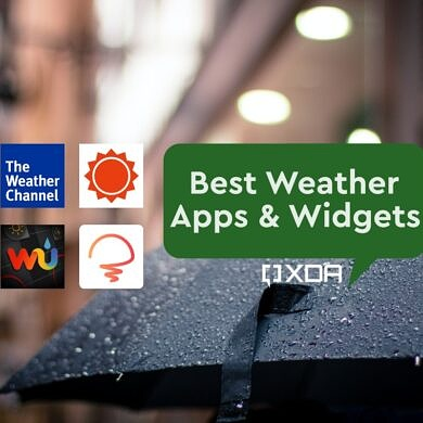 These are the Best Weather Apps and Widgets for Android: Today Weather, AccuWeather, and more!