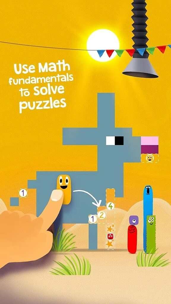 DragonBox Numbers puzzles