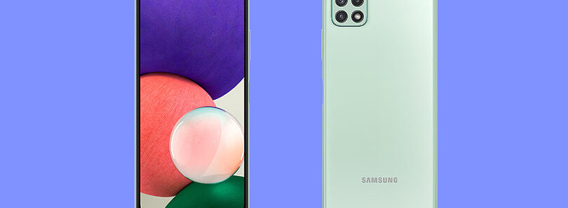 Samsung reveals the Galaxy A22 5G, its cheapest 5G phone yet