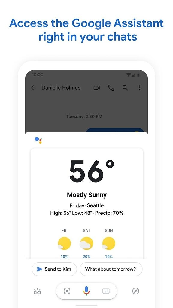 Messages by Google Assistant