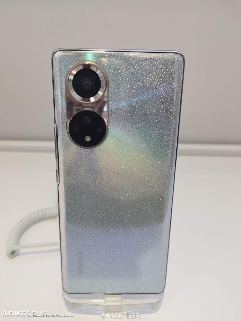 honor 50 snapdragon 778gg leaked image silver