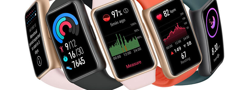 The HUAWEI Band 6 Leads the Way in Smart Band Design