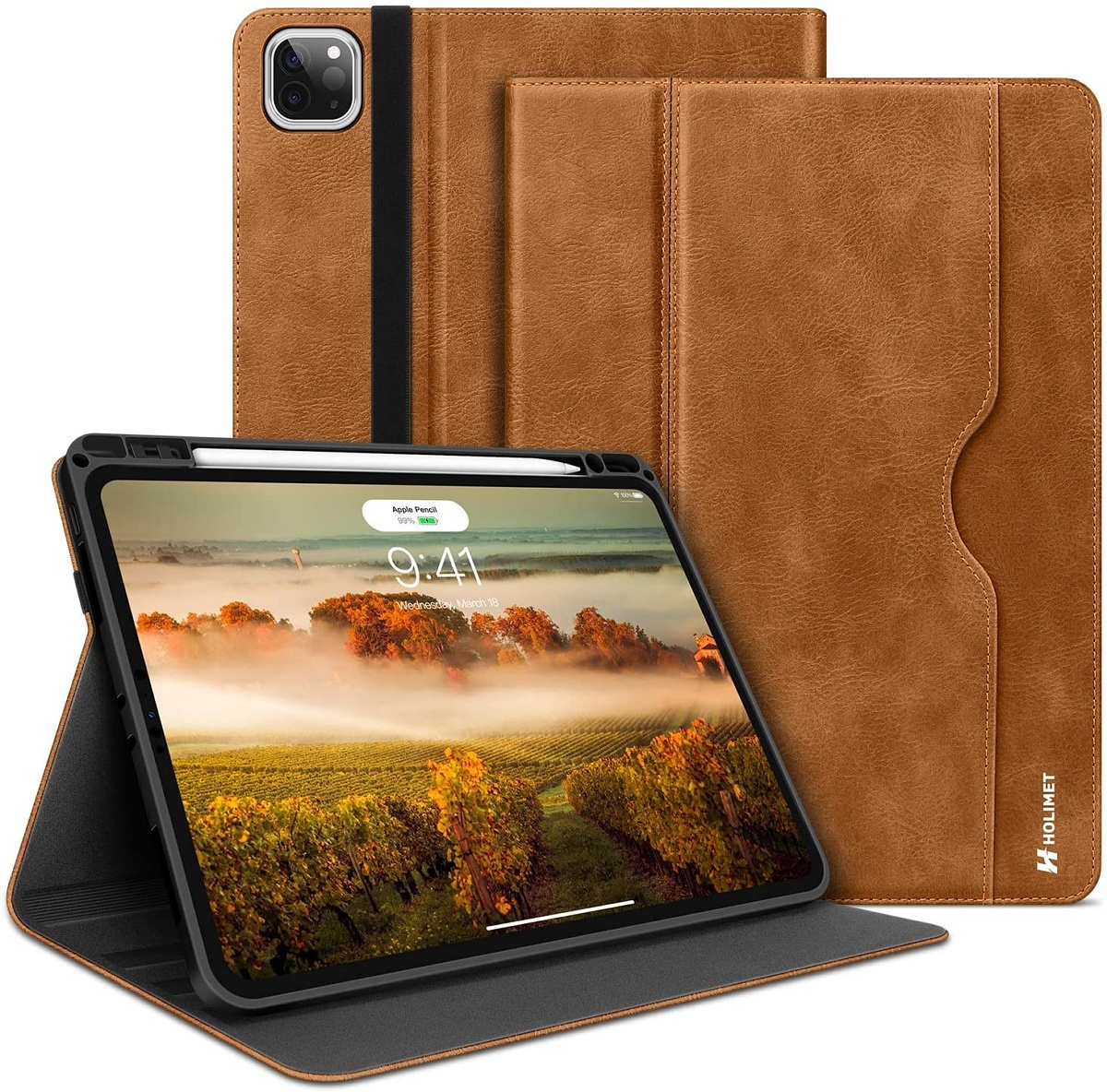 HOLIMET Leather Case for iPad Pro 11-inch