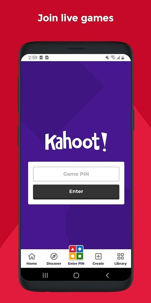 Kahoot - Play & Create Quizzes PIN