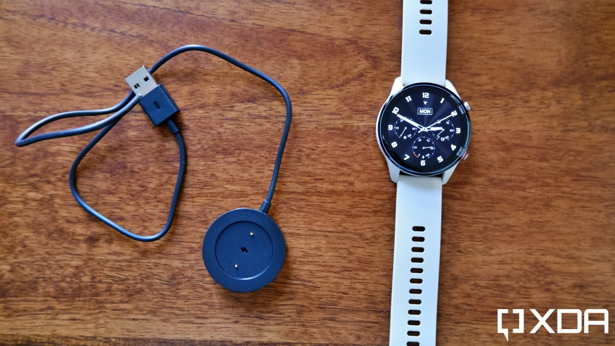 Xiaomi Mi Watch Revolve Active with charger
