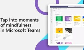 Microsoft is bringing Headspace mindfulness guides to Teams