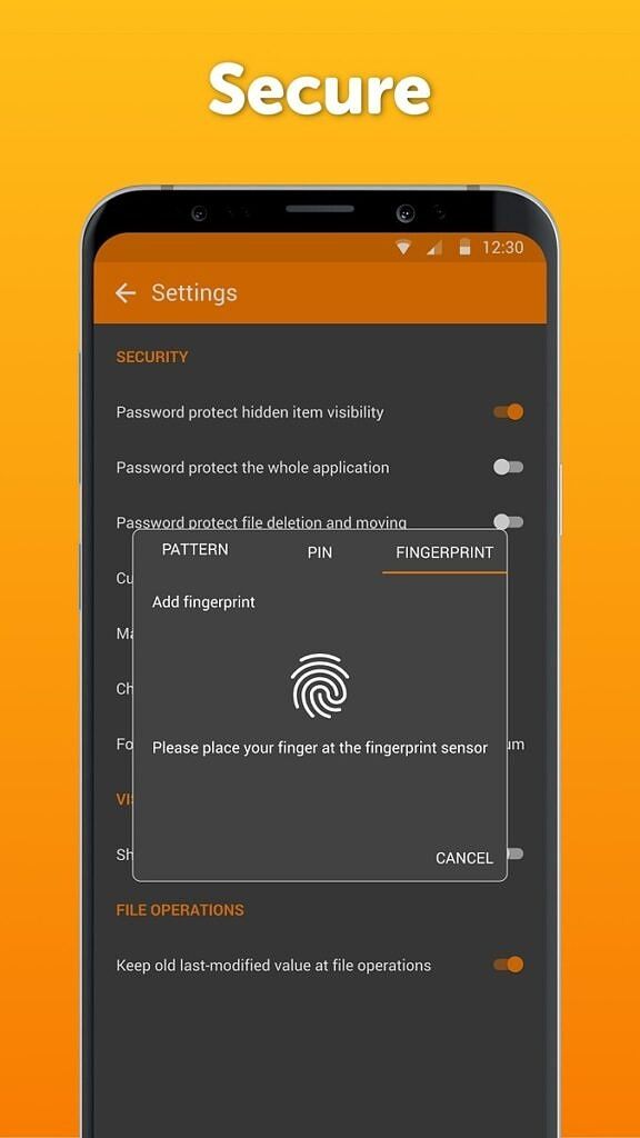 Simple File Manager Pro - Lock