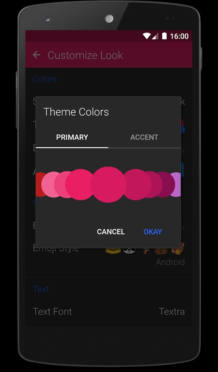 Textra SMS themes
