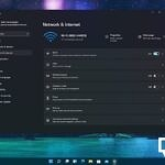 Network and Internet settings in Windows 11