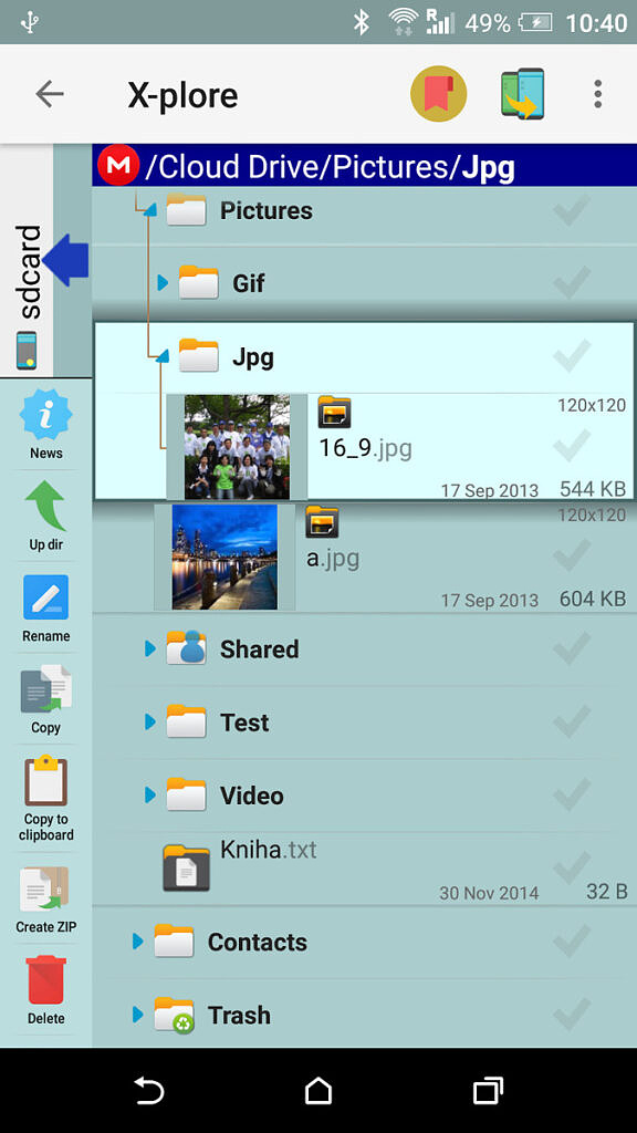 X-plore File Manager - Image