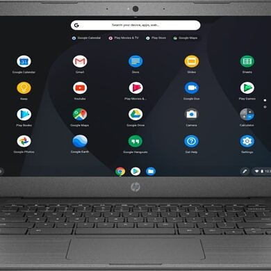 Can I connect two displays to the HP Chromebook 14?