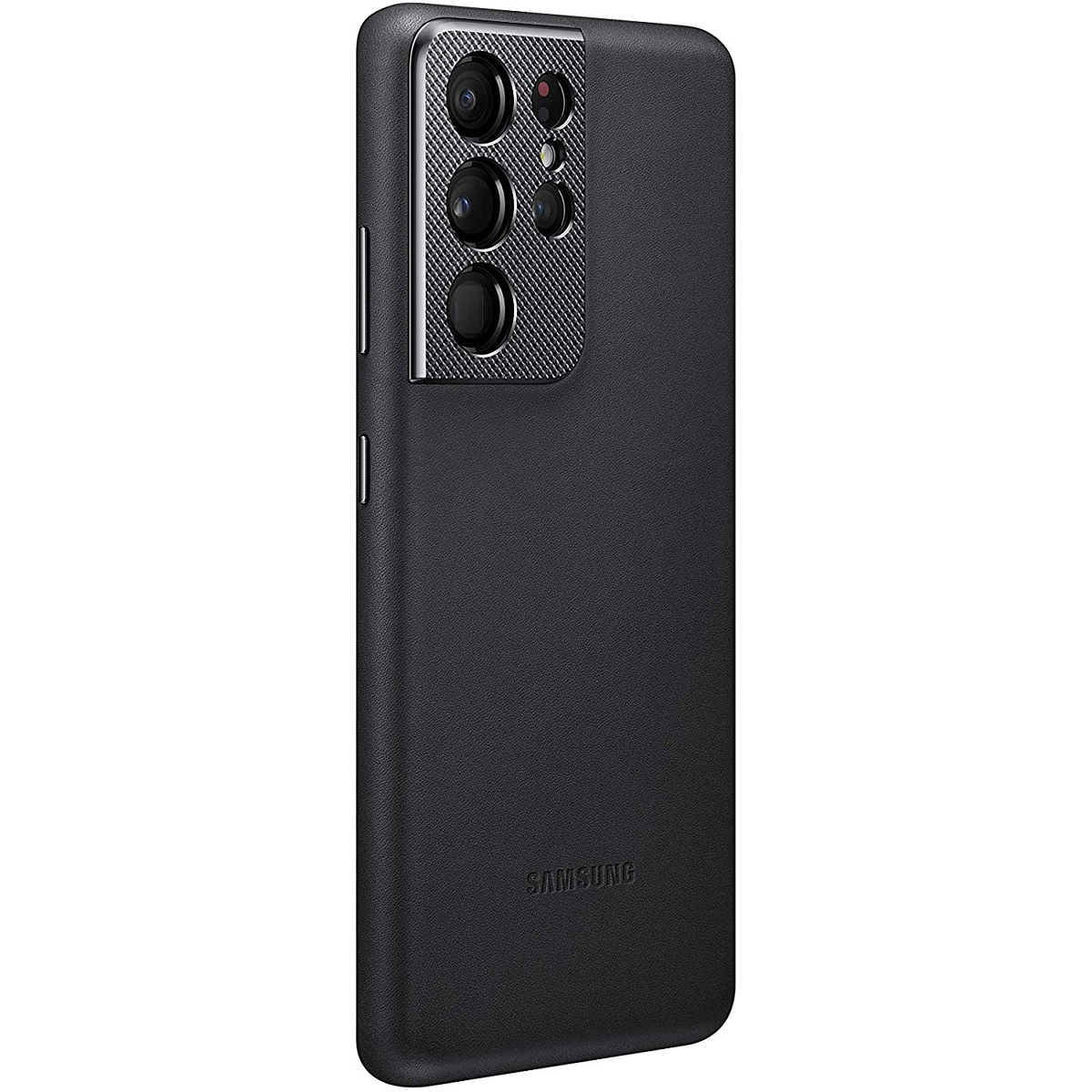 Galaxy S21 Ultra Black Leather Cover