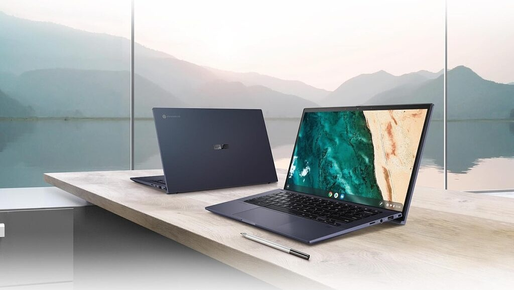 ASUS Chromebook CX9 on table