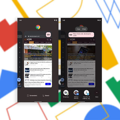 Android 12's new recents URL sharing feature makes it easy to copy links