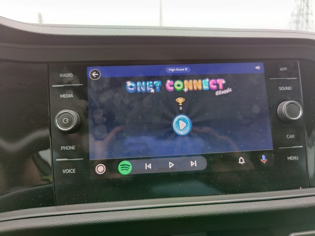 Onet Connect game in Android Auto GearSnacks