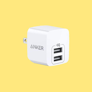 Anker's dual-port USB charger is just $11 right now