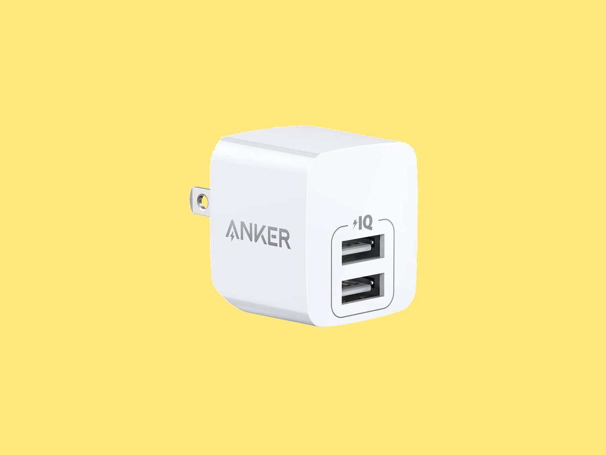 Anker's dual-port USB charger is just  right now