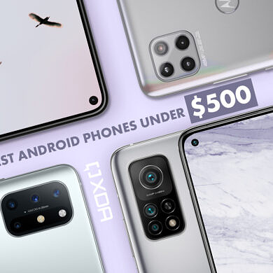 These are the Best Android Phones under $500 in Fall 2021: Google, OnePlus, Samsung, and More!