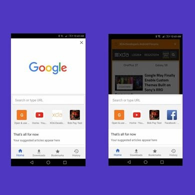 Here's why Google abandoned the Chrome Home UI redesign