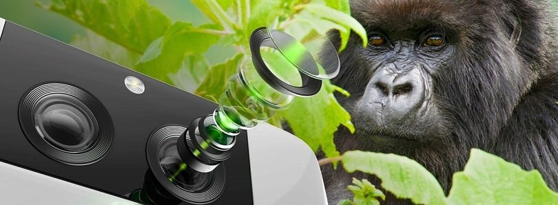 Corning's Gorilla Glass with DX protects the camera lens on your smartphone
