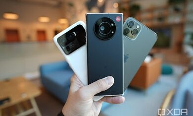 The Leica Leitz Phone 1 is a gorgeous niche phone for fans of the iconic German brand