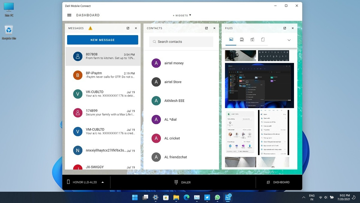 Dell revamps its Mobile Connect app to take on Microsoft's Your Phone