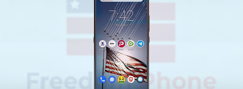"""The """"Freedom Phone"""" is an overpriced smartphone that doesn't free you from anything"""