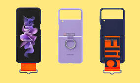 Samsung's official Galaxy Z Flip 3 cases are designed for carrying without pockets
