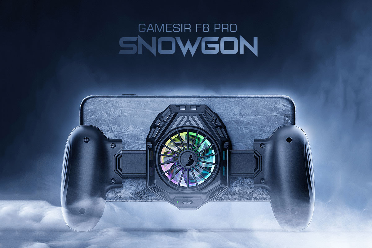 GameSir launches new phone grip with cooling fan for mobile gamers