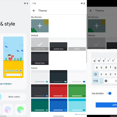 Gboard's new Dynamic Color theme syncs with your wallpaper on Android 12