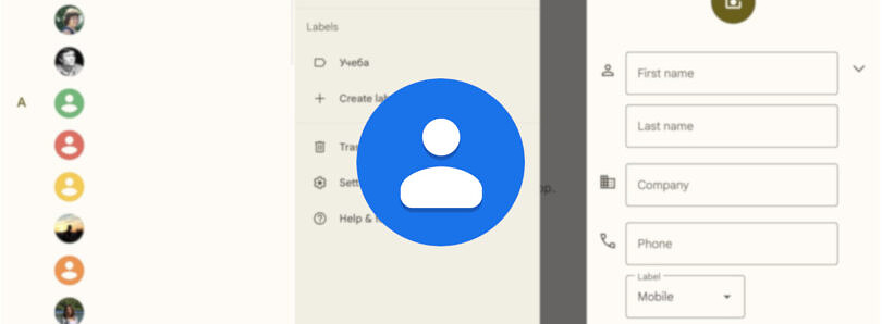 Google Contacts update enables Material You's dynamic theming on Android 12