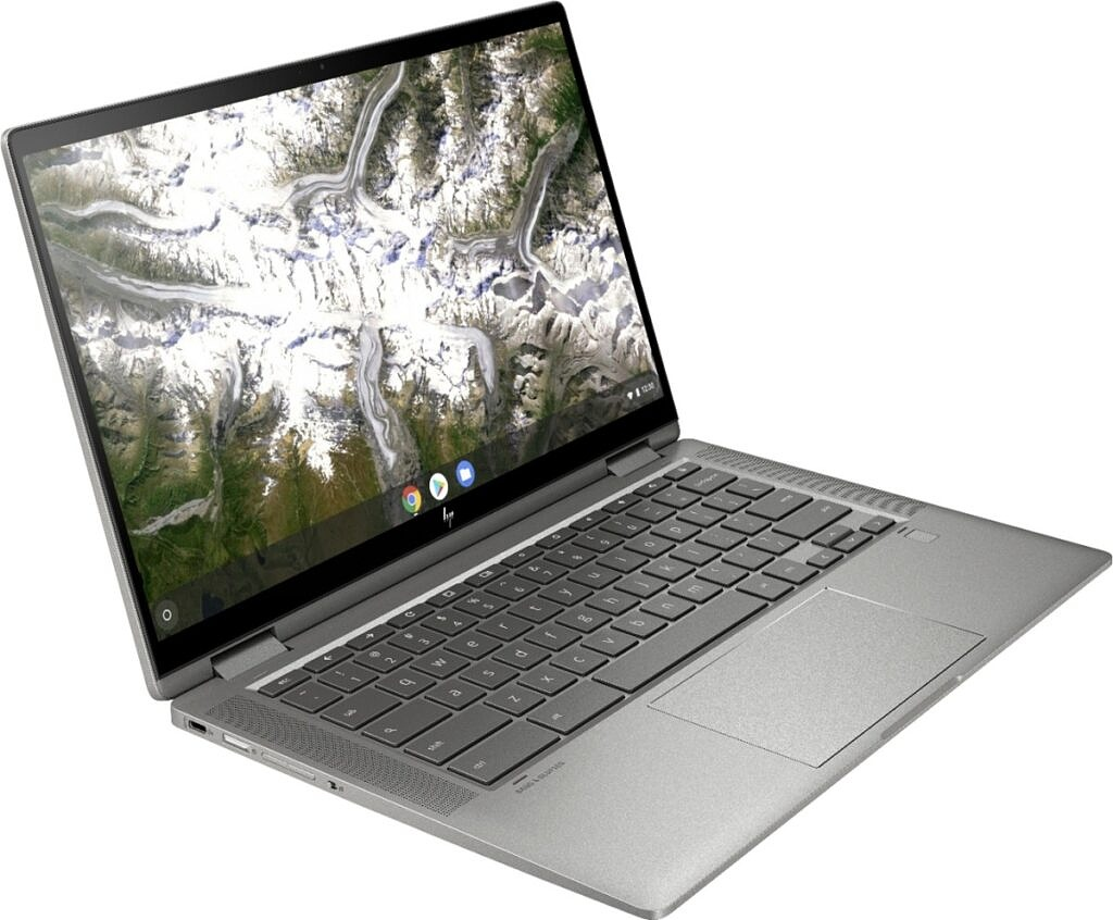 HP Chromebook 14 open display view