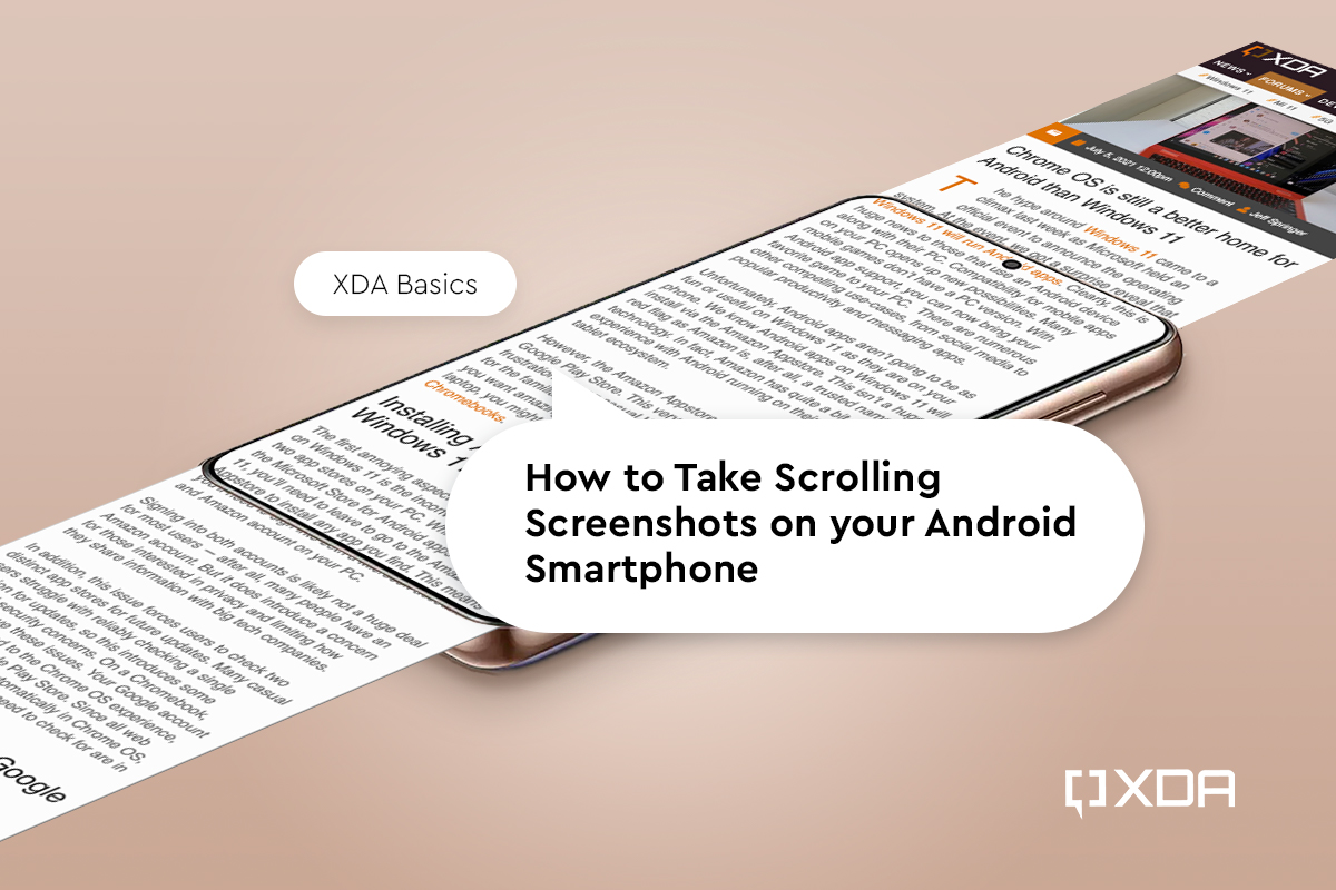 How to Take Scrolling Screenshots on your Android Smartphone