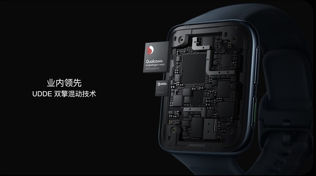 OPPO Watch 2 powered by Snapdragon Wear 4100