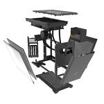 Cooler Master MasterBox NR200P Max exploded view with more components