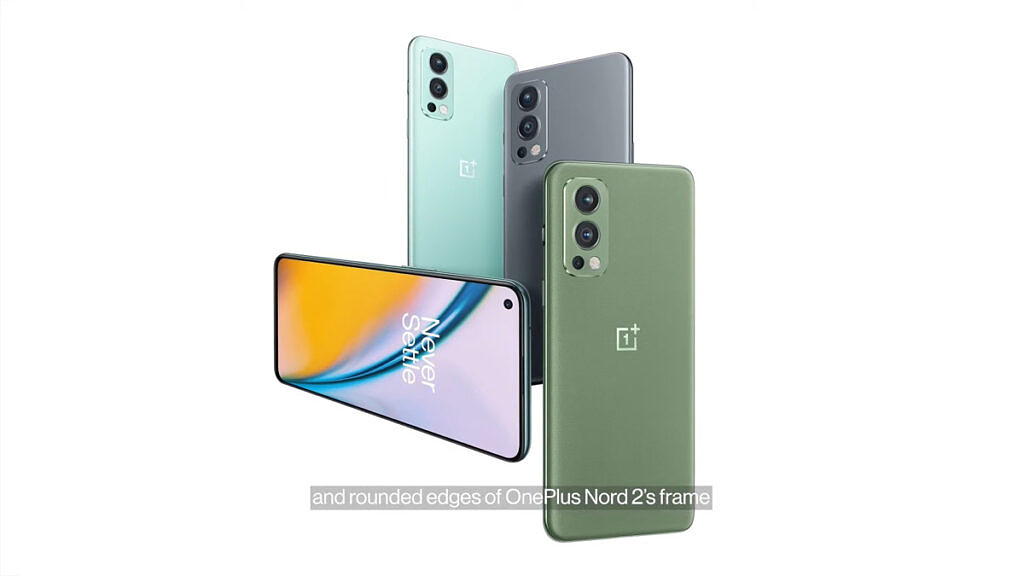 OnePlus Nord 2 all colors