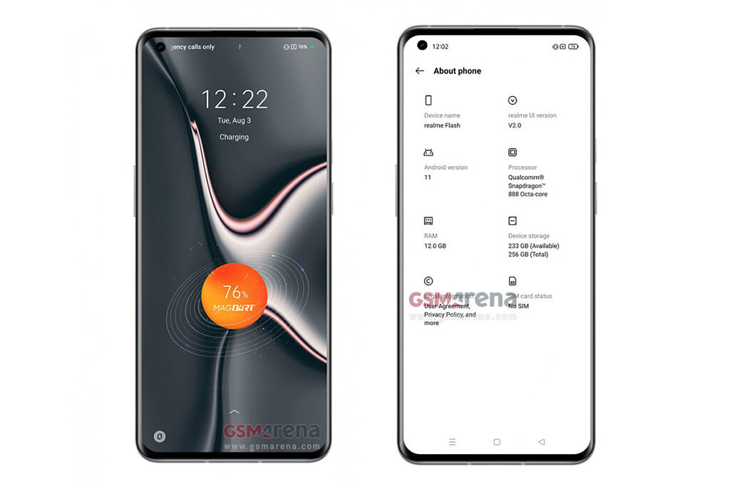 Realme Flash leaked device information