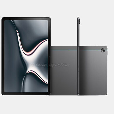 Realme Pad leaked renders offer first look at the upcoming Android tablet