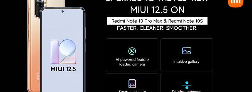 Download: MIUI 12.5 beta is now available for the Redmi Note 10 Pro Max & Note 10S