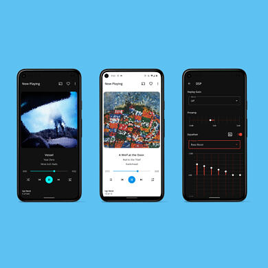 S2 Music Player is a ground-up rewrite of Shuttle with a new design