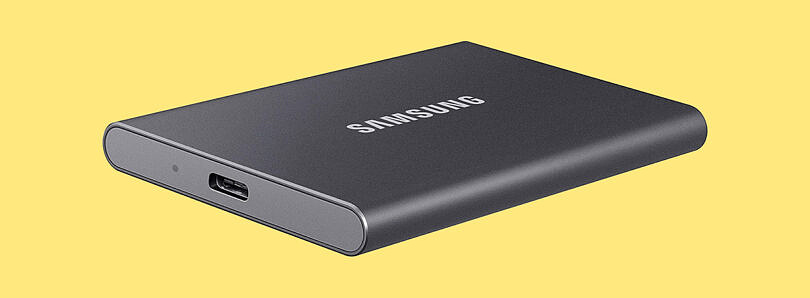 Get a 500GB Samsung T7 portable SSD for just $70 ($30 off)