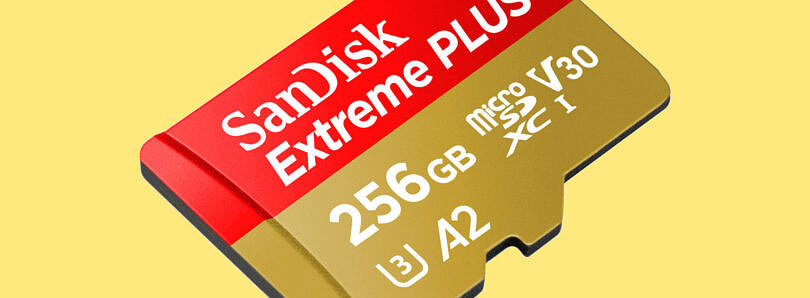 Get a super-fast 256GB microSD card for $58 today