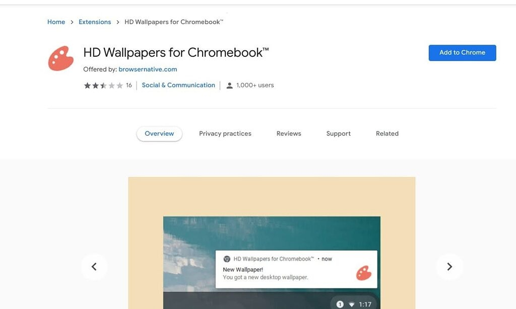 HD Wallpapers for Chromebook