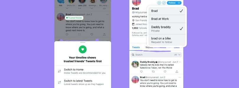 Twitter explores Trusted Friends, Reply Language Prompts, and Facets