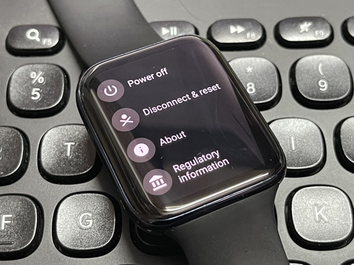 Wear OS About System