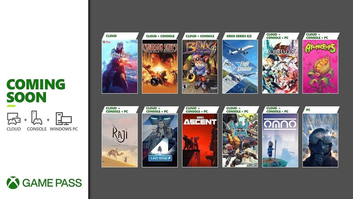 Here are the games coming to Xbox Game Pass for the end of July 2021!
