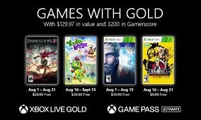 Here are the free games from Xbox Games with Gold in August 2021