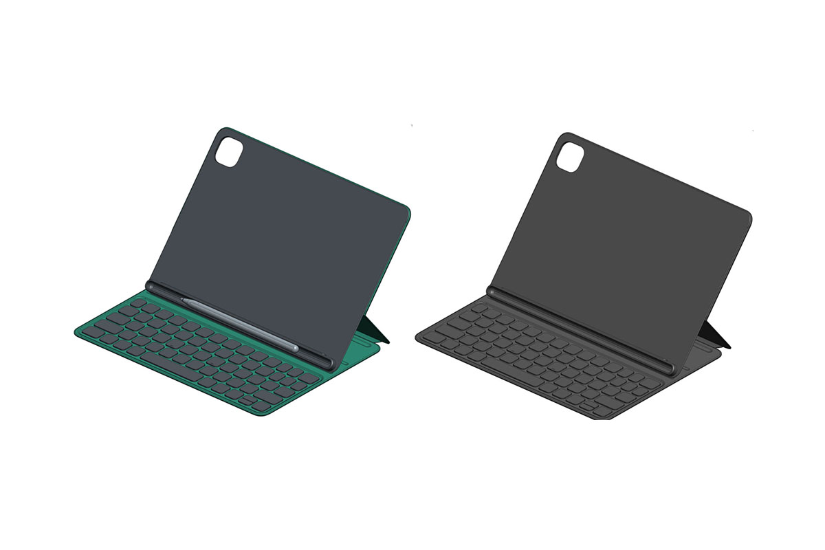 This could be Xiaomi's Keyboard Cover for the Mi Pad 5