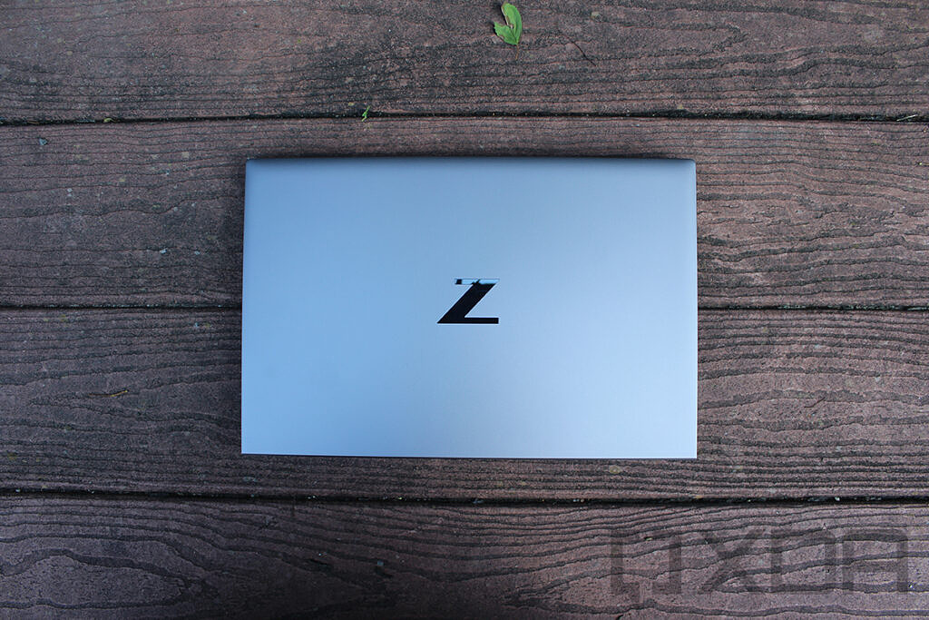 Top down view of HP ZBook Firefly G8